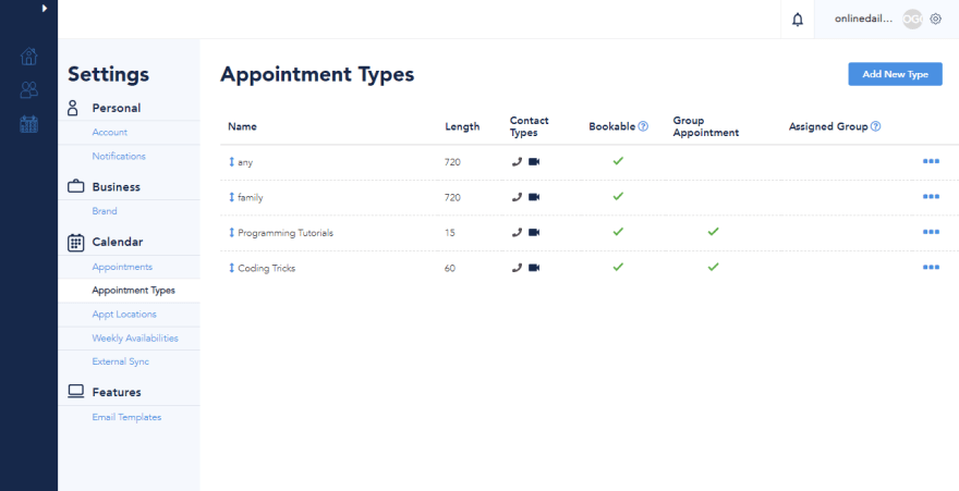 spurwing-appointment-type