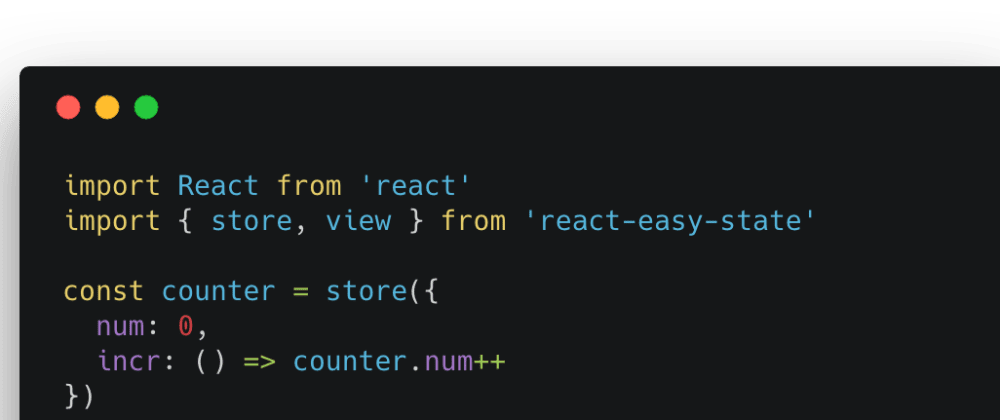 Cover image for Practical Patterns with React Easy State