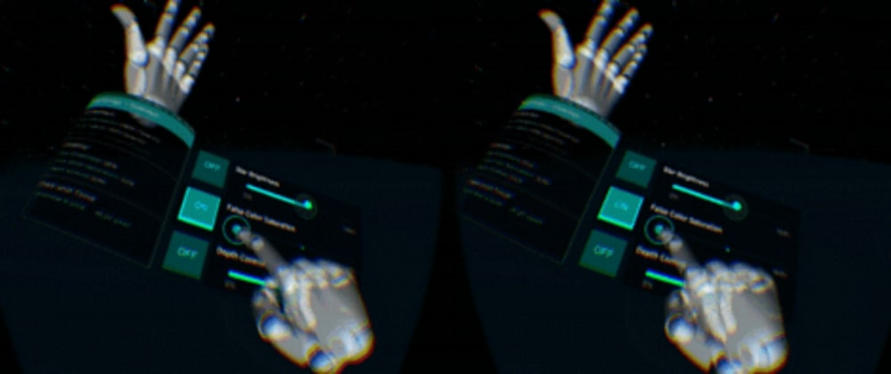 Cover image for The  UI/UX of AR/VR