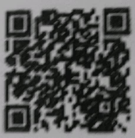 blurred QR code