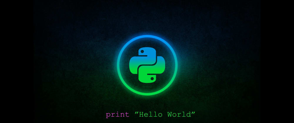 Cover image for Wow can python do that?