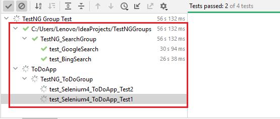 TestNG group