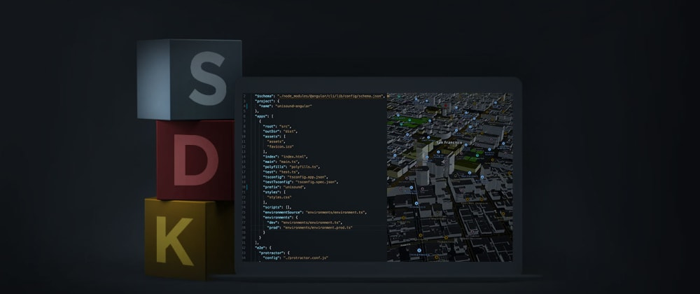 Cover image for Using the TomTom Maps SDK with Angular and TypeScript