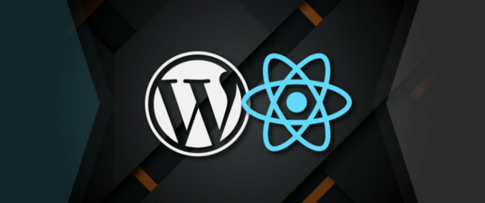 Cover image for React with WordPress API