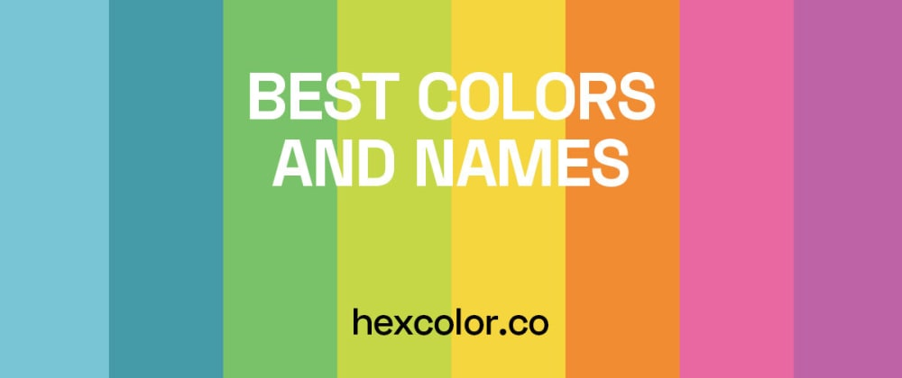 Cover image for Best Colors and Names