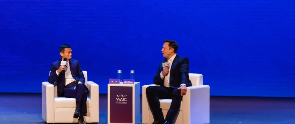Cover image for Jack Ma vs Elon Musk Debate — Different perspectives of future of AI