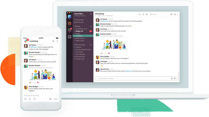 Slack review