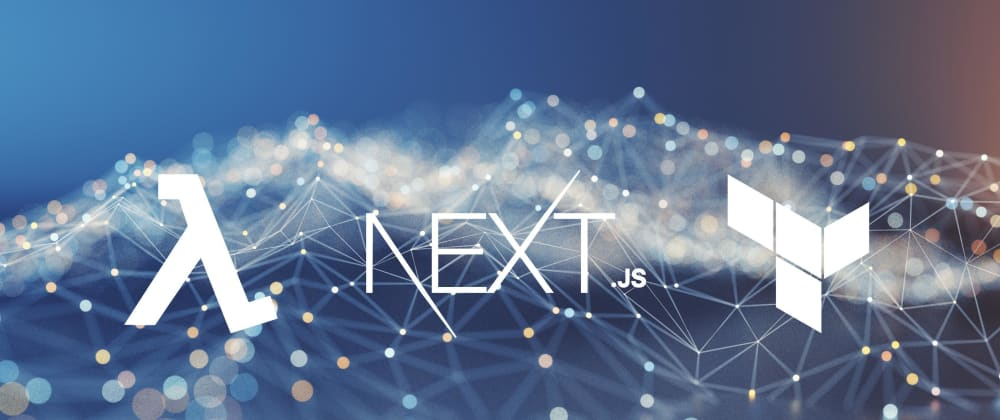 Cover image for How to create statically generated, serverless site with NextJS, AWS CloudFront and Terraform