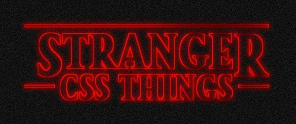 Cover image for Stranger Things Text Generator