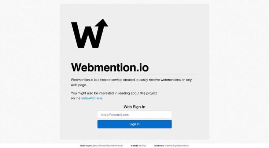 Webmention.io