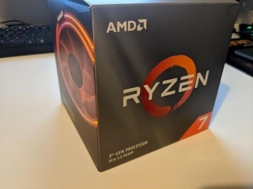 Ryzen 7 3800x CPU