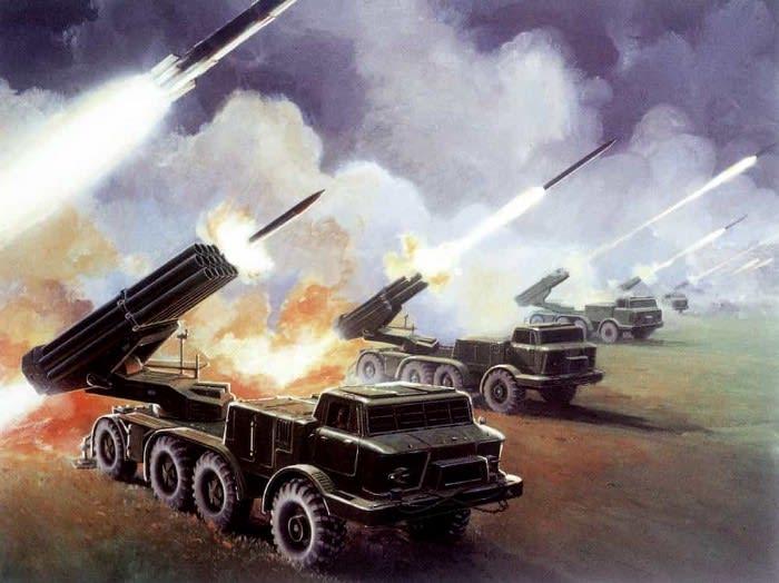 Imagine multiple missile trucks firing at your website
