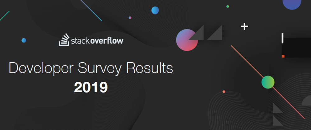 Cover image for Stackoverflow Survey 2019