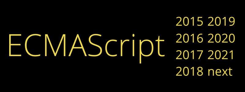 ECMAScript Versions