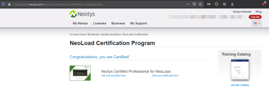 Neotys Certification Program
