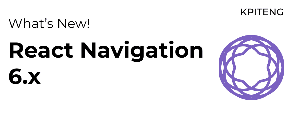 Cover Image for React Navigation 6.x