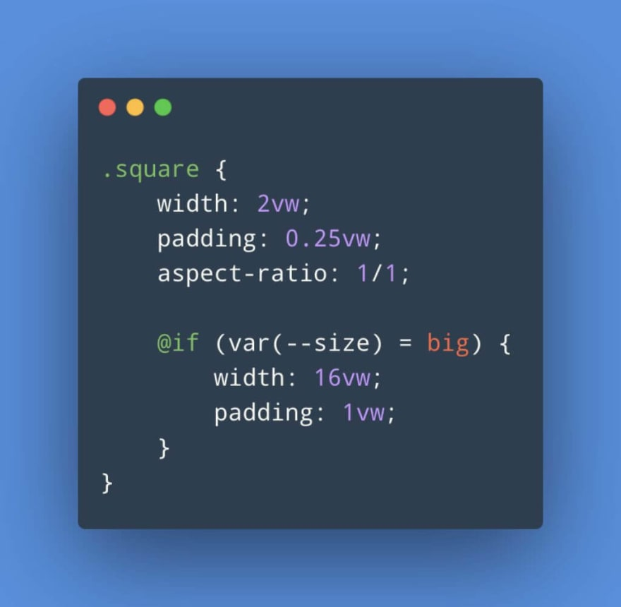 The future of CSS: Higher Level Custom Properties