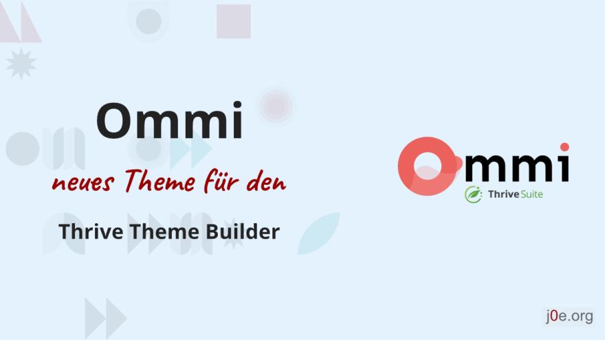 Ommi Theme für den Thrive Theme Builder