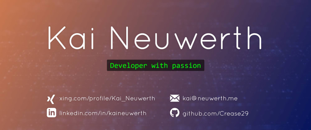 Cover image for My little personal website