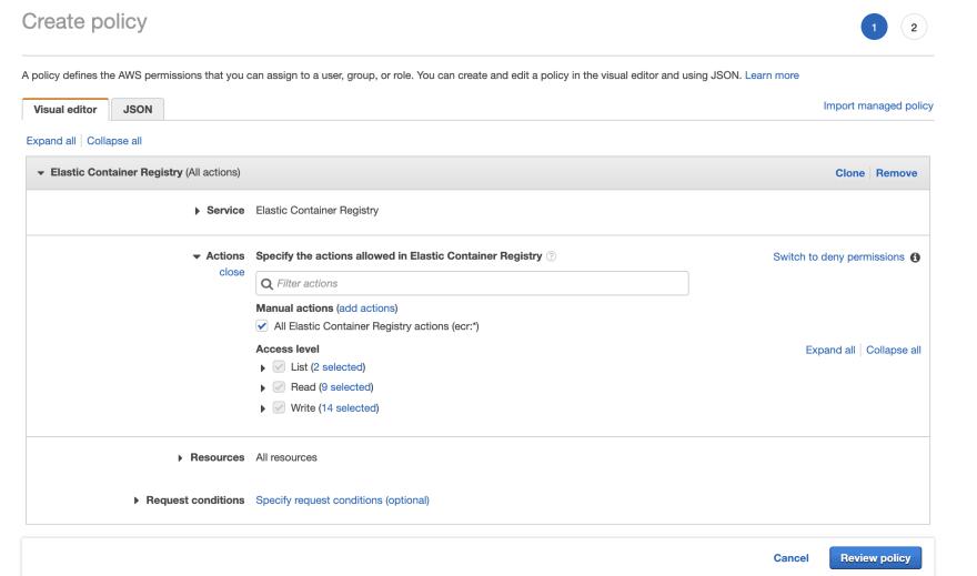 Deploy Rails in Amazon ECS: Part 2 - Push an image to ECR - DEV