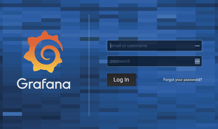 Grafana Login Page