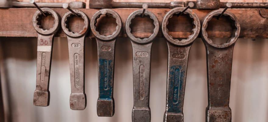 Tools sizes