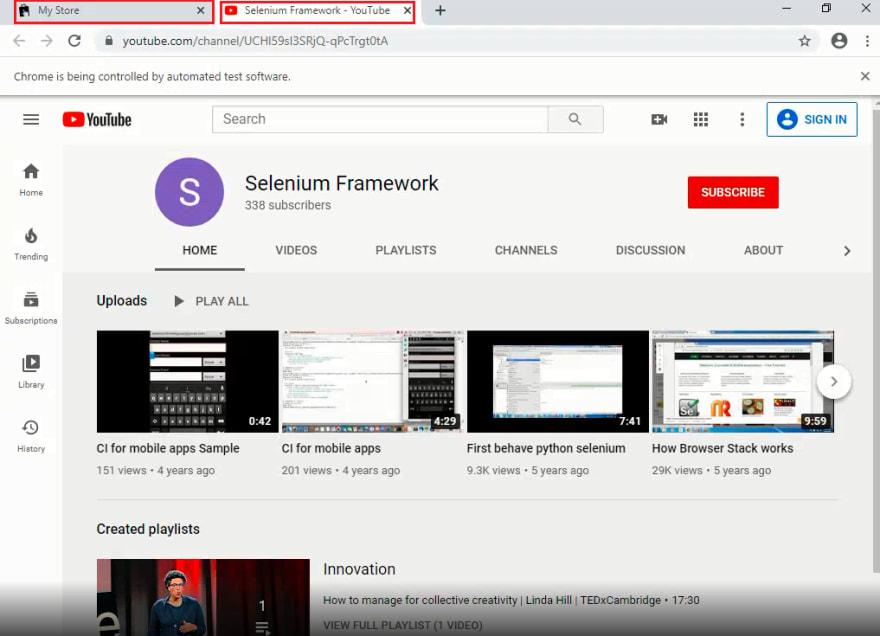 lambdatest youtube
