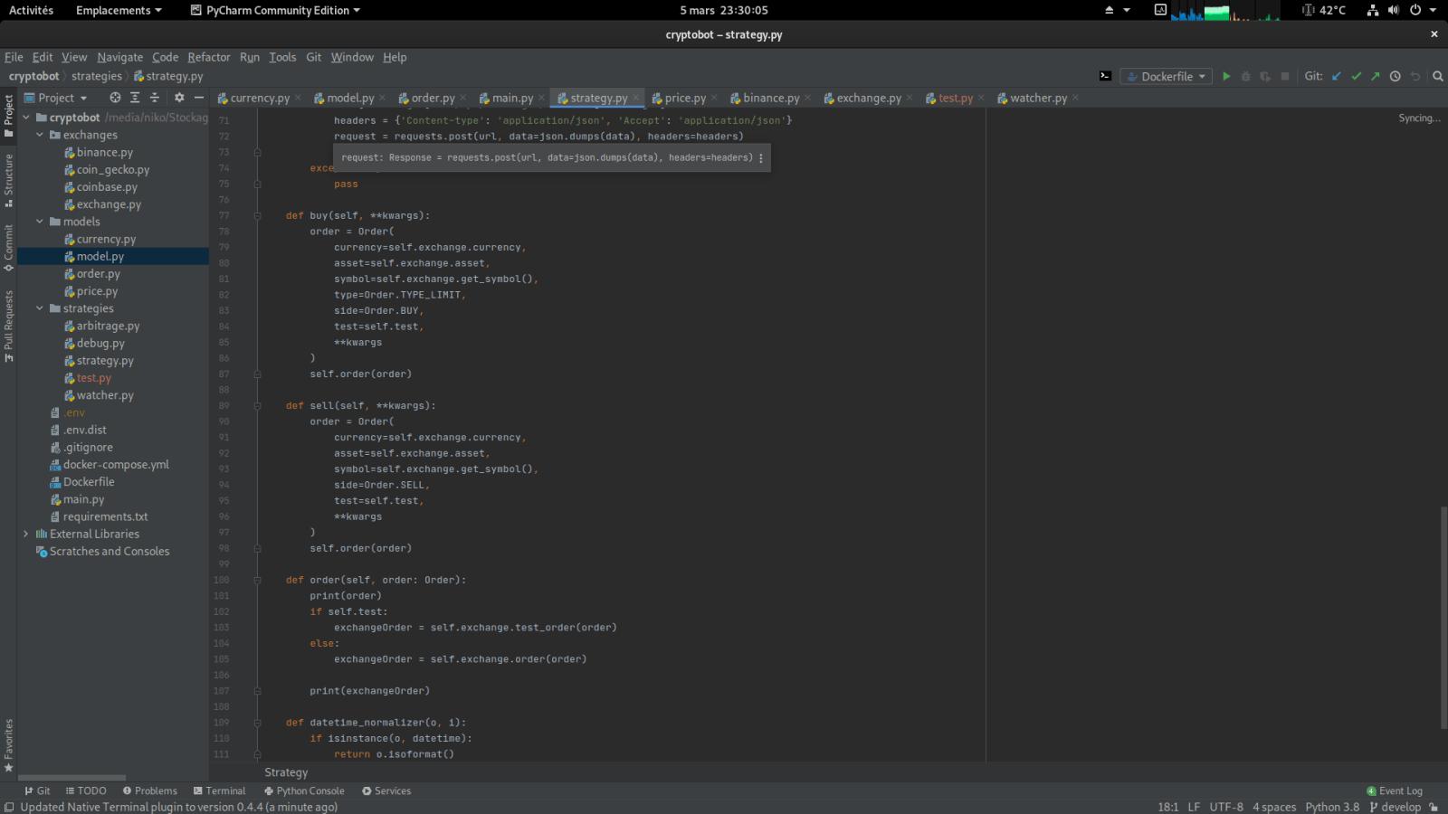 software bot crypto