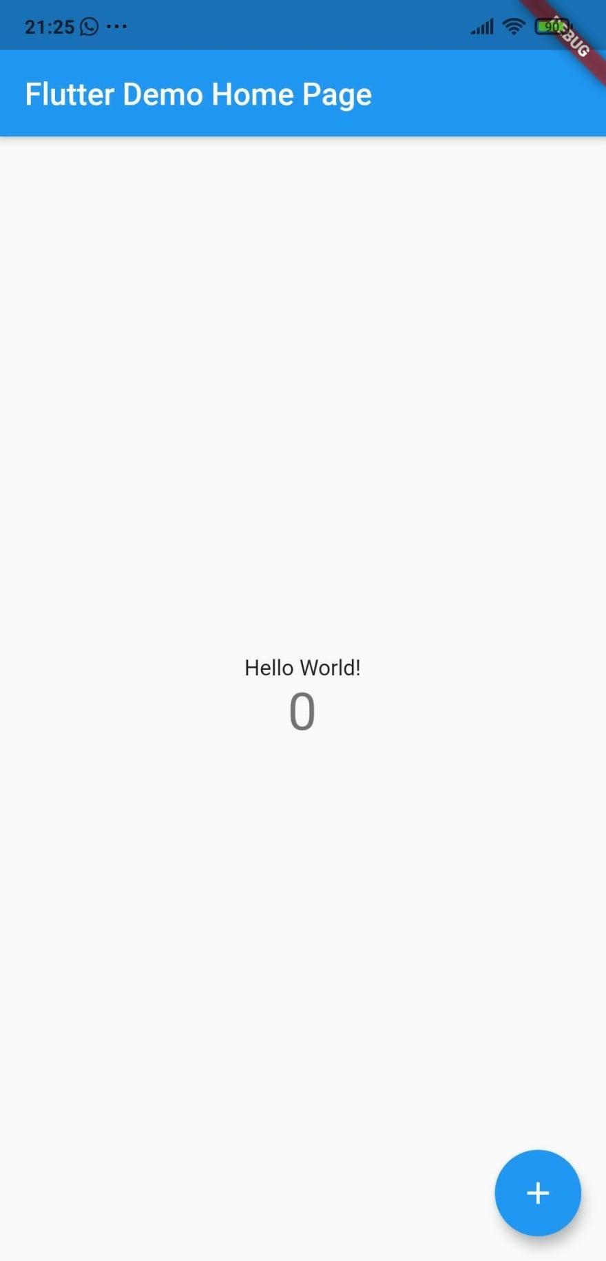 Exemplo hello world