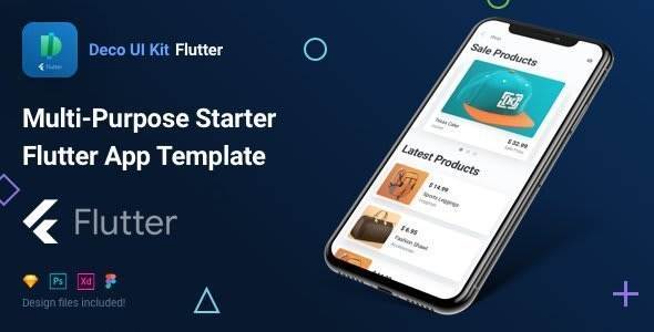 Deco UI Kit – Multi-purpose Starter Flutter App<br> Template