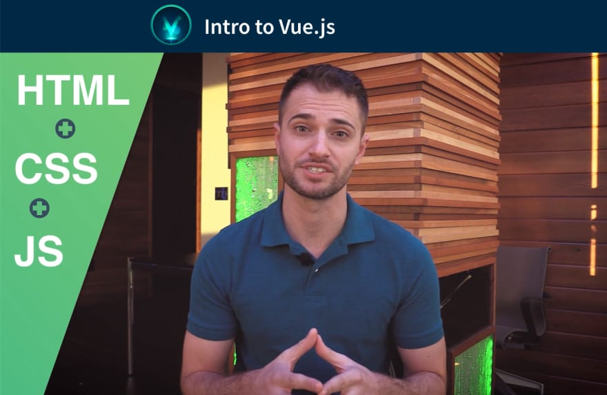 Intro to Vue.js on VueMastery