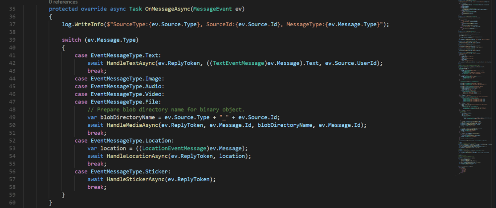 Cover image for C# LINE Bot development with Azure Function for cross-platform