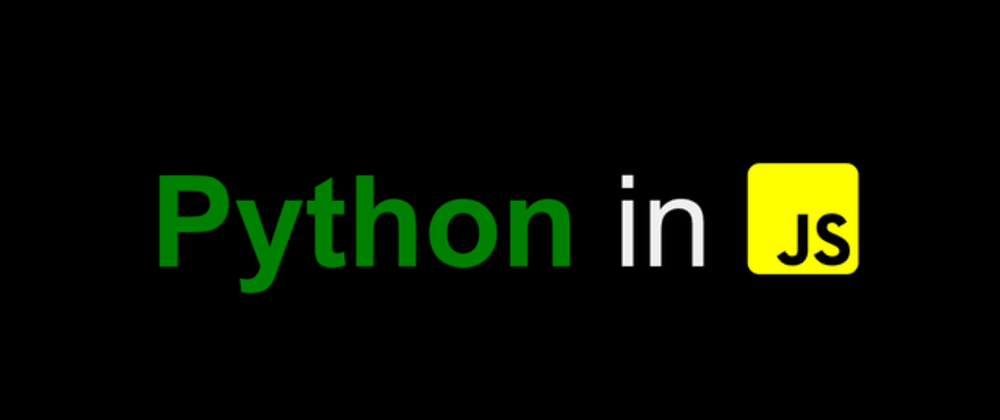 Cover image for How to use Python in JavaScript with examples
