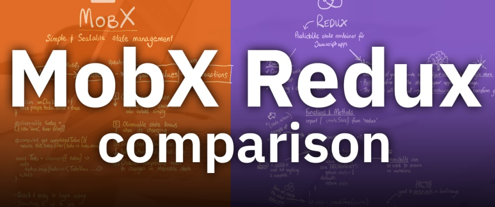 Cover image for MobX vs Redux comparison