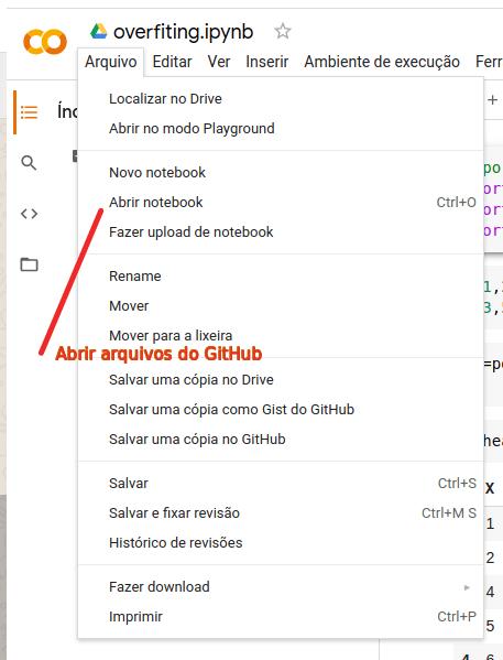 Salvar cópia do arquivo no GitHub