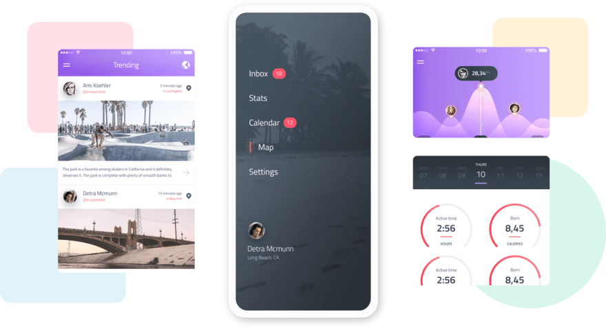 Sync Html template Hero section