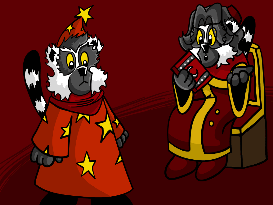Red and Scarlet talking