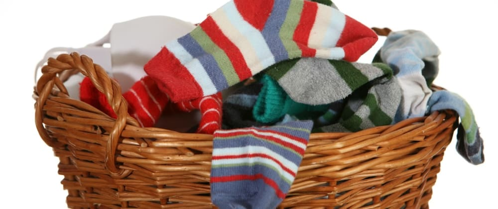 """Cover image for THE """"SOCK LAUNDRY"""" SOLUTION"""