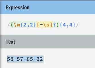 Ejemplo utilizando **(), **como se puede ver se cumplen la regla propuesta** **(**Fig-25**)