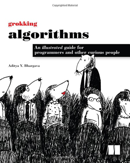 Grokking Algorithms: An illustrated guide for programmers and other curious people by Aditya Y. Bhargava