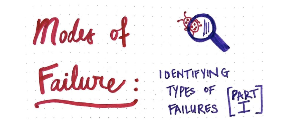 Cover image for Modes of Failure (Part 1)