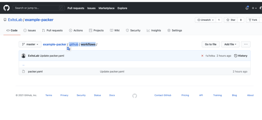 How to create GitHub Actions