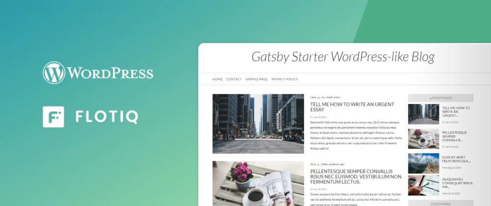 Cover image for How to move from WordPress to Jamstack using our Gatsby WordPress Starter