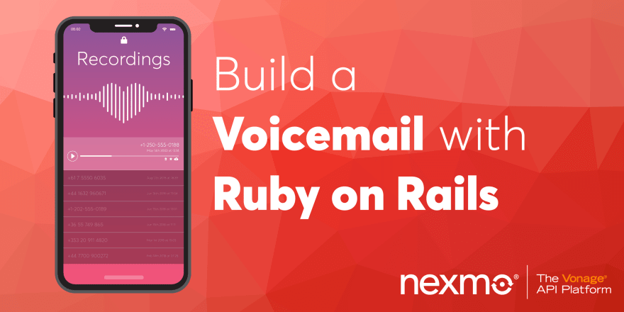 Build a Voicemail App with Ruby on Rails - DEV Community