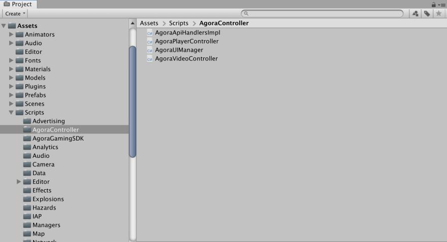 Controller Script Hierarchy