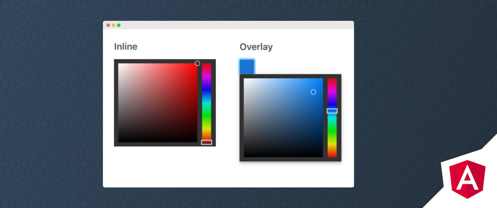 Cover image for Angular ColorPicker