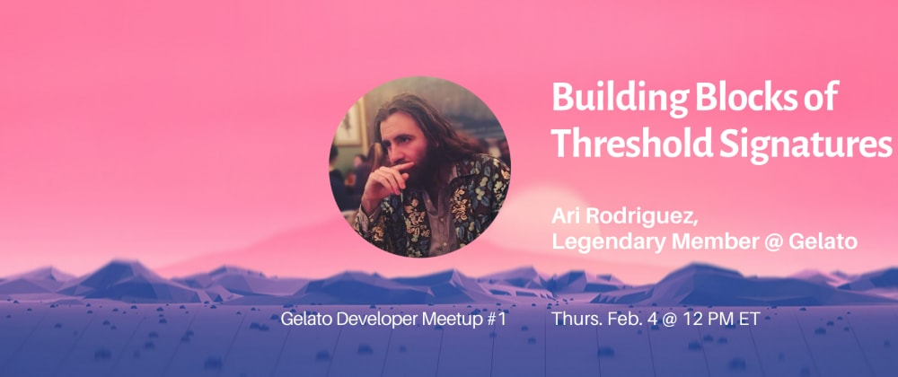 Cover image for [Dev Meetup] Threshold Signatures for Dapps on Ethereum
