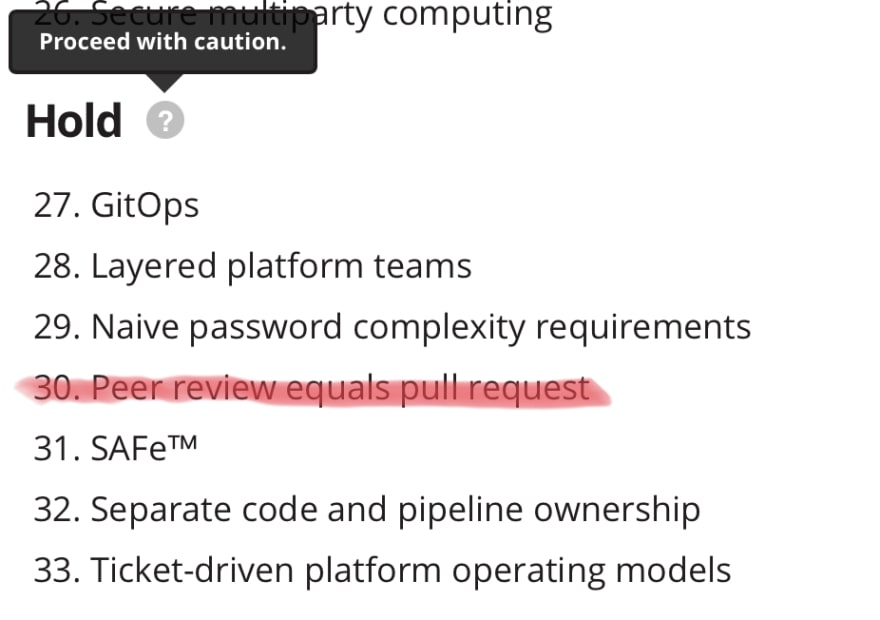 Pull Requests - Hold