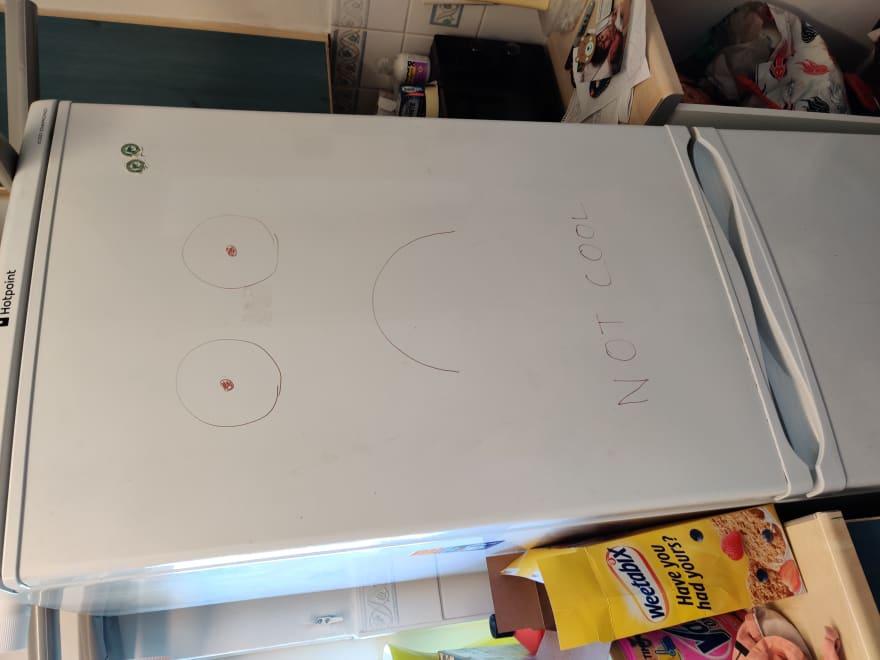 Not cool fridge