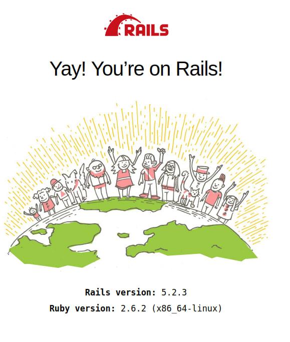 Rails new application